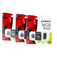 Tarjeta micro SD Kingston 16 GB
