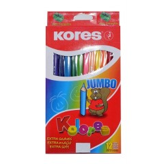 Color Kores Jumbo Grueso * 12