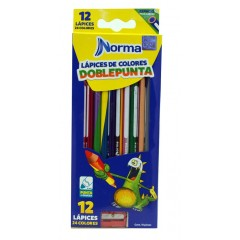 Color Norma Doble Punta * 12