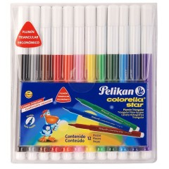 Plumon Pelikan X 12 Triangular